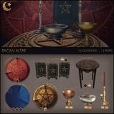 .random.Matter. - Pagan Altar - Rug [Solid Purple]