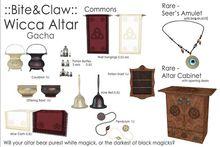 ::B&C:: Wicca Altar - Pendulum - Pure