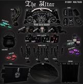 Birdy - Altar set - Ram skull - Dark