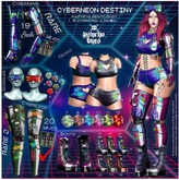 12 .{PSYCHO:Byts} Cyberneon Destiny - Outfit RED BOX