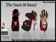 [Vips Creations] - [Shoes][The Touch Of Bones][For Mesh bodies]