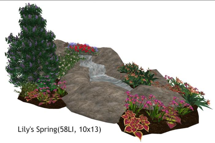 Lily's Spring(58LI, 10x13)
