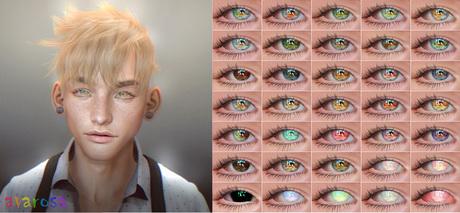 [avarosa] Haruka Eyes (mesh eyes and omega applier)