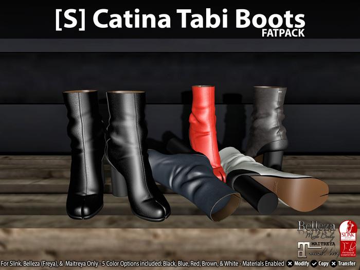 [S] Catina Tabi Boots Fatpack