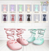 Youth Size Ballet Shoes - Pistachio
