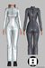 HACHE::Oops_Jumpsuit_holographic