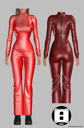 HACHE::Oops_Jumpsuit_red