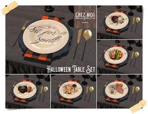 Halloween Table Set ♥ CHEZ MOI