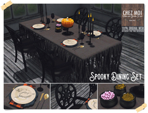 Spooky Dining Set ♥ CHEZ MOI