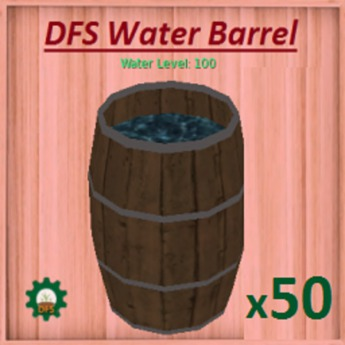 DFS Water Barrel x50