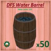 DFS Water Barrel x50