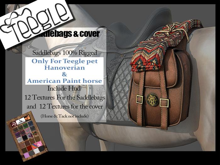 saddlebags+cover Teegle Painthorse & Hanorverian