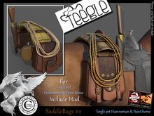 (*.*) SaddleBags #2  Teegle Pet Animesh
