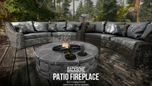 BackBone Patio Fireplace