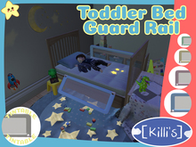 [Killi's] Toddler Bed Guard Rail - Safety Rail