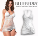 Blueberry - Noelia - Knotted Dress - White