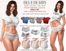 Blueberry doux noelia set top shorts patterns packmp