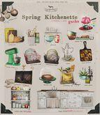Vespertine - Spring Kitchenette -  little plants