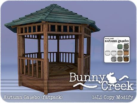 .:.Bunny Creek.:. Autumn Gazebo (fatpack)