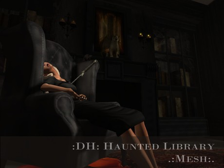 :DH: Haunted Library (MESH)
