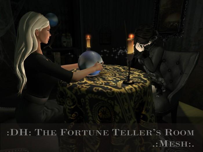 :DH: The Fortune Teller's room (MESH)