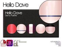Hello Dave - Nail Appliers - Free Demo Palette