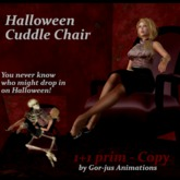**Halloween Cuddle Chair by Gor-jus Animations**