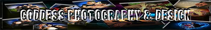 Goddess photography   design logo 700x100