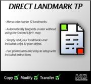 Direct Teleport To Landmark Script