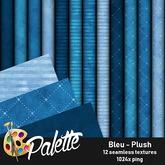 Palette - Bleu Plush