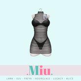 Miu by Legal Insanity - Bri sheer dress black