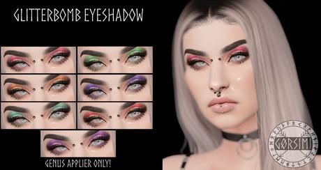 - Gorsimi - Glitterbomb Eyeshadow (GENUS)