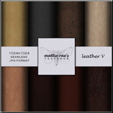 Leather Five Textures
