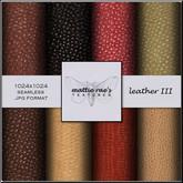 Leather Three Textures