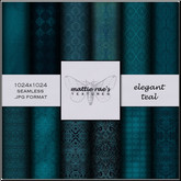 Elegant Teal Textures