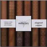Elegant Copper Textures