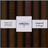 Elegant Bronze Textures