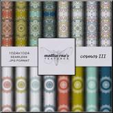 Cosmos Three Textures