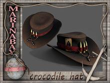 crocodile hat