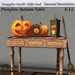 Pumpkin Autumn Table By Snuggles  Boxed