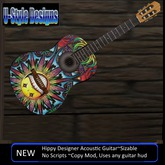 Hippy Acoustic Guitar