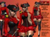 **GENOVEVA V3 PIRATE STYLE COMPLET OUTFIT** (WEAR)
