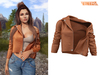 TETRA - Moto leather jacket (Foxy)