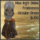 Miss Ing's Dinkie Francesca Circular Dress Set