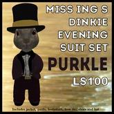 Miss Ing's Dinkie Evening Suit Set Purkle