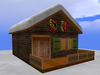 RE Swiss Chalet Cabin w/Snow on Roof - Cottage/House/Ski Lodge