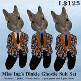 Miss Ing's Dinkie Ghostie Suit Set