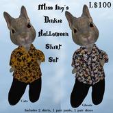 Miss Ing's Dinkie Halloween Shirt Set