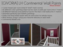 [GIVORIA] - LH Continental Paint Walls Mod Version (wear me)