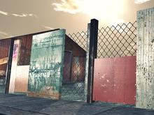 Post Apocalyptic Fence 2 - Mesh - 1 Prim Each